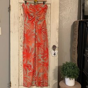 Tommy Bahama cotton Halter Maxi
